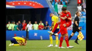 شاهد أهداف مباراة السويد وإنجلترا فى روسيا 2018