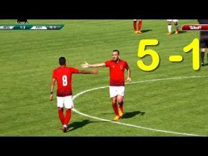 الأهلى المصرى يستعد للموسم الجديد بخماسية فى فريق روسى… شاهد