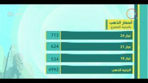 أسعار العملات الأجنبية والذهب في مصر اليوم