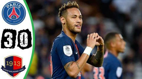 بالفيديو شاهد أهم لقطات مباراة باريس سان جيرمان وكان