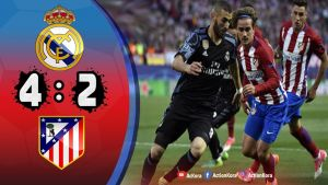 بالفيديو شاهد أهداف الريال وأتلاتيكو مدريد فى كأس السوبر
