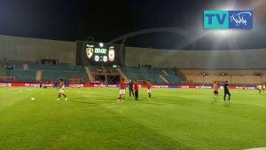اجواء ما قبل مباراة الأهلي ووادي دجلة بتصوير من أرض ملعب ستاد السلام