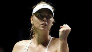 الروسية ماريا شارابوفا تسعى للعودة لبطولات التنس الكبرى