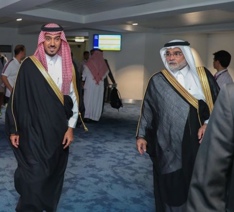 """""""عبدالعزيز الفيصل"""" يصل  إلى العاصمة الإندونيسية لحضور دورة الألعاب الآسيوية"""