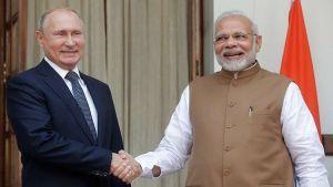 ماذا أكل الرئيس الروسى فى الهند؟!