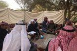 وزير البيئة يقوم بزيارة تفقدية لمتنزه وثيلان الوطني في محافظة الخرج