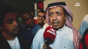 ردة فعل جماهير الهلال بعد الانتصار على الوحدة في الجولة التاسعة