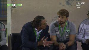 هدف السعودية الأول ضد اليمن (عبدالرحمن غريب) – مباراة ودية