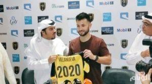اتحاد جدة يجدد عقد لاعب وسطه التشيلي كارلوس فيلانويفا حتى 2020