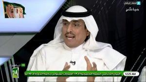 محمد الدويّش: نادي #النصر في الشوط الاول من مباراة الديربي كان بإمكانه ليس التعادل بل تسجيل 3 اهداف