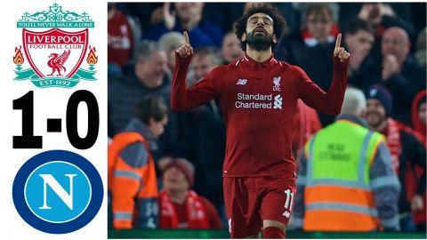 بالفيديو محمد صلاح يسجل هدف فوز ليفربول على نابولى فى دورى الأبطال الأوروبى… ملحص المباراة