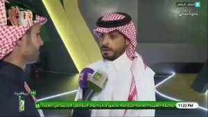 """""""خالد العطوي"""" مدرب المنتخب السعودي للشباب : تواجدي اليوم في #قرعه_اغلي_الكووس هو تكريم و تشريف لي"""