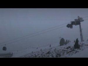 إصطدام عربات تلفريك فى منتجع بالنمسا… فيديو