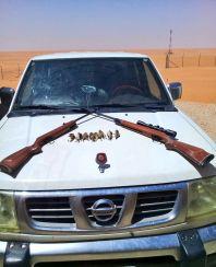 القبض علي اشخاص قاموا بالصيد دون تصريح في محمية الإمام تركي بن عبدالله