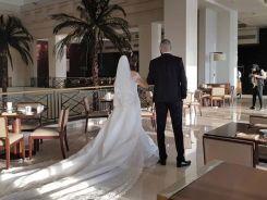 أول صور مسربة من زفاف الداعية الإسلامي معز مسعود وشيري عادل