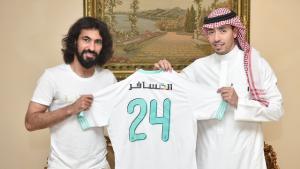 اللاعب حسين عبد الغني ظهير أيسر نادي أحد يوقع رسميا للأهلي