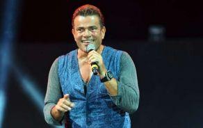 شاهد .. عمرو دياب يقوم بالانتهاء من التحضيرات الأخيرة لألبومه الجديد