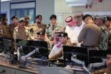 الأمير عبدالله بن بندر يتابع الحالة الجوية من منى                              .