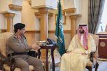 الأمير عبدالله بن بندر يطلع على جهود إدارة سجون المنطقة وخطط التطوير