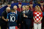 الفرنسي كيليان مبابي أفضل لاعب صاعد في المونديال