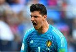 الحارس الدولي البلجيكي يتوج بالقفاز الذهبي للمونديال