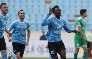 الفيصلي يُعير لاعبه المحترف السنغالي دومينيك ميندي للشرطة العراقي