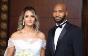 اللاعب المصري محمود عبد الرازق شيكابالا يحتفل بحفل زفافه