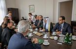 الدكتور عبدالله بن عبدالعزيز يلتقي أعضاء مجموعة الصداقة البرلمانية البولندية السعودية