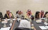 """""""امير منطقة الحدود الشمالية"""" يرأس اجتماع تعزيز التنمية المجتمعية بالشمالية"""