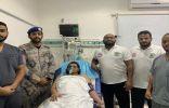 قوات حرس الحدود في منطقة عسير ينقذ مواطنا من الغرق