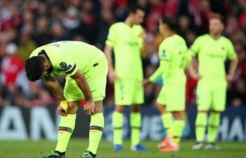 لاعب برشلونة الإسباني يعترف بالخطأ وما جرى بعد رباعية ليفربول