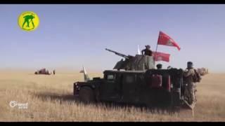 البدر الشيعي يواصل اكتماله..الحشد الشيعي يصل الحدود السورية وقوات النظام تتجه إلى دير الزور